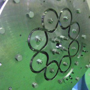 16打擊數鋼絲用捲線面板