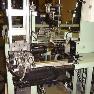 Automatic winder reel up part for threads