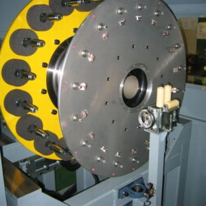 16x16 spiral machine track plate