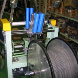 Rubber tube winder