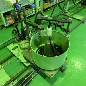 Self-propelled winding machine