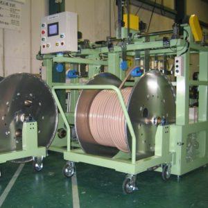 2 barreled carrier drum winder